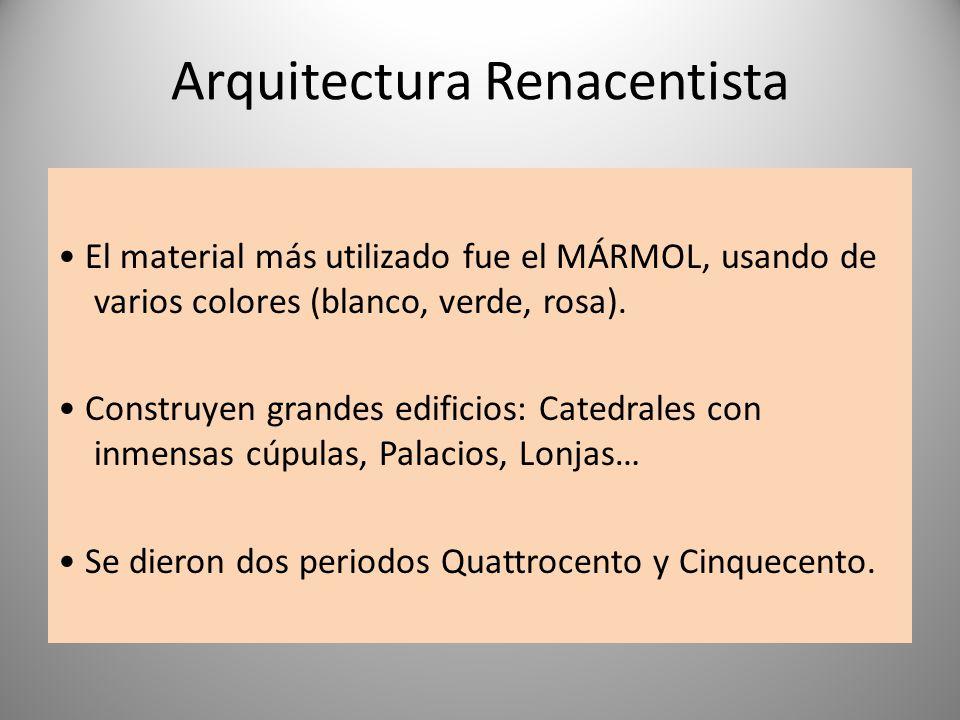 El renacimiento italiano s xv xvi ppt video online for Arquitectura quattrocento y cinquecento