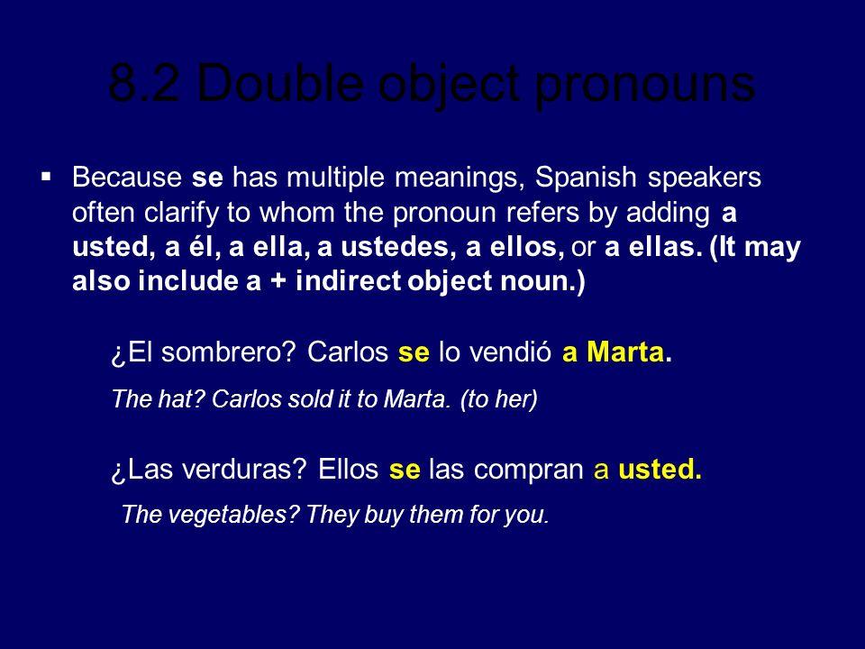 ¿El sombrero Carlos se lo vendió a Marta.