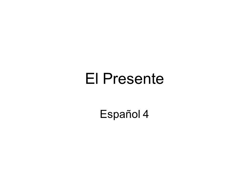 El Presente Español 4