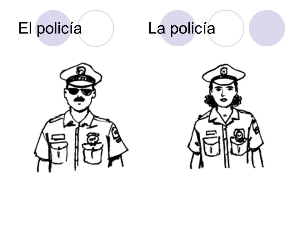 El policía La policía