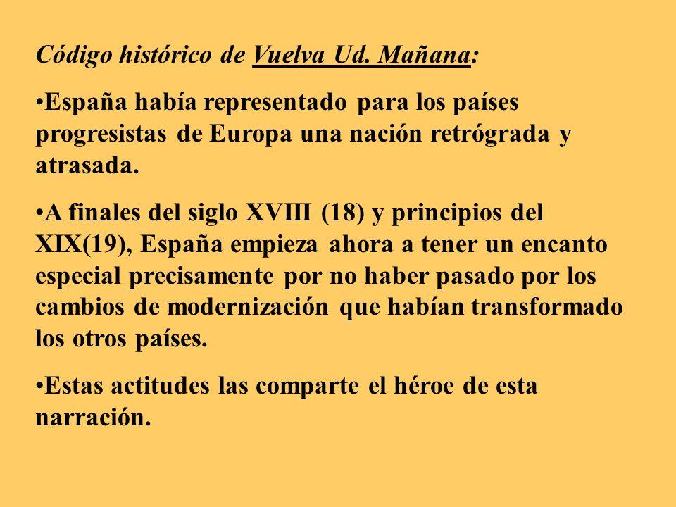 Código histórico de Vuelva Ud. Mañana: