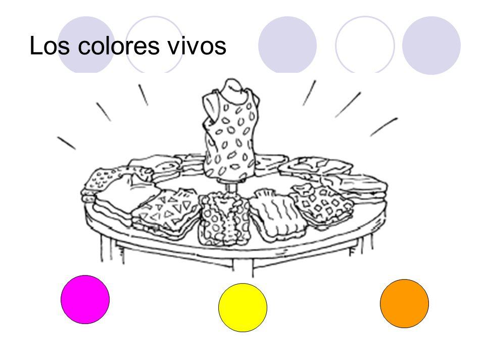Los colores vivos