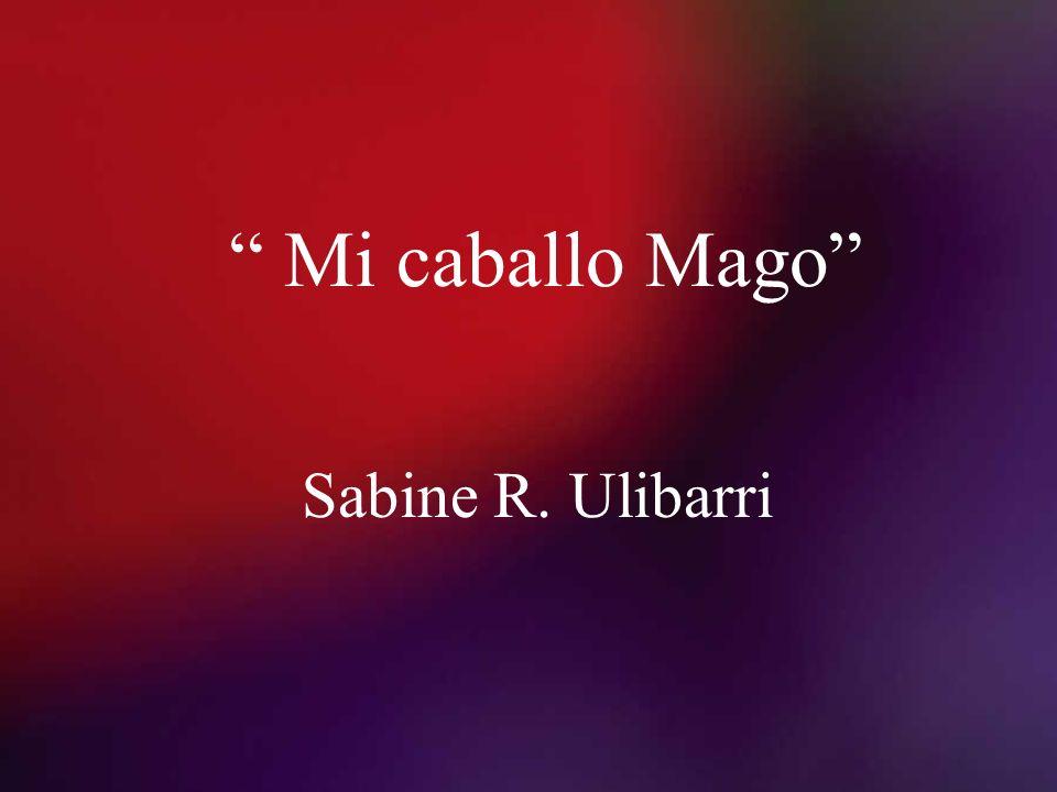 Mi caballo Mago Sabine R. Ulibarri