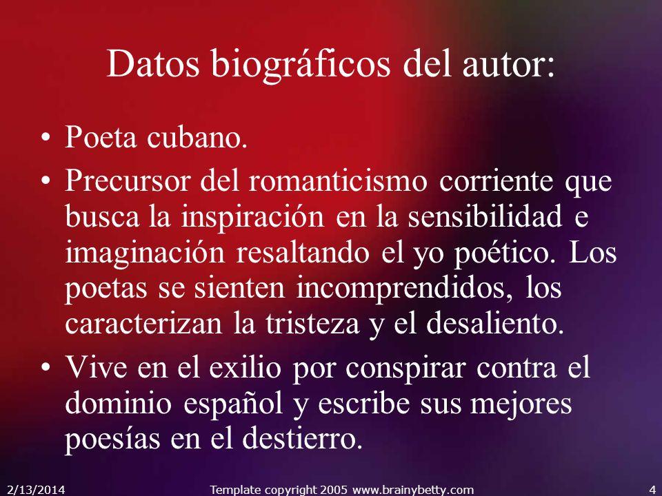 Datos biográficos del autor:
