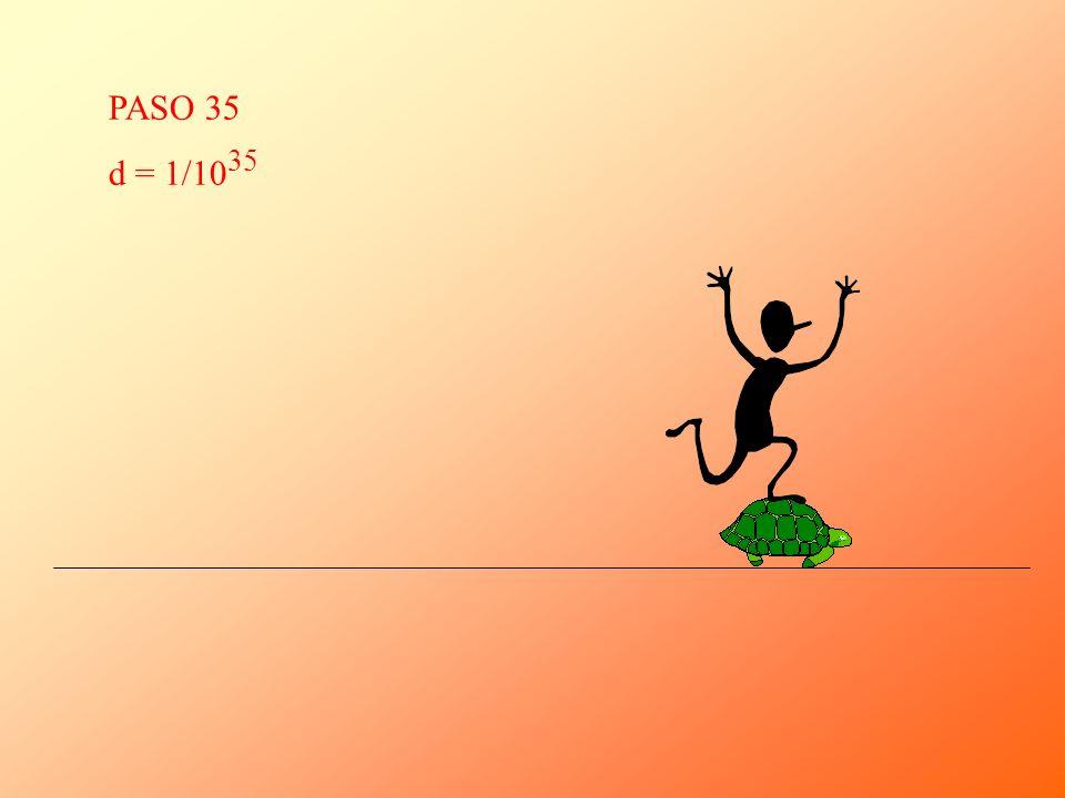 PASO 35 d = 1/1035