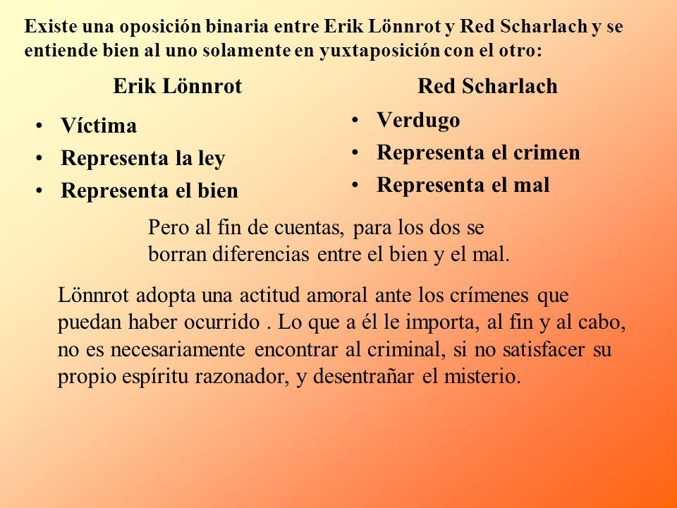 Red Scharlach Erik Lönnrot
