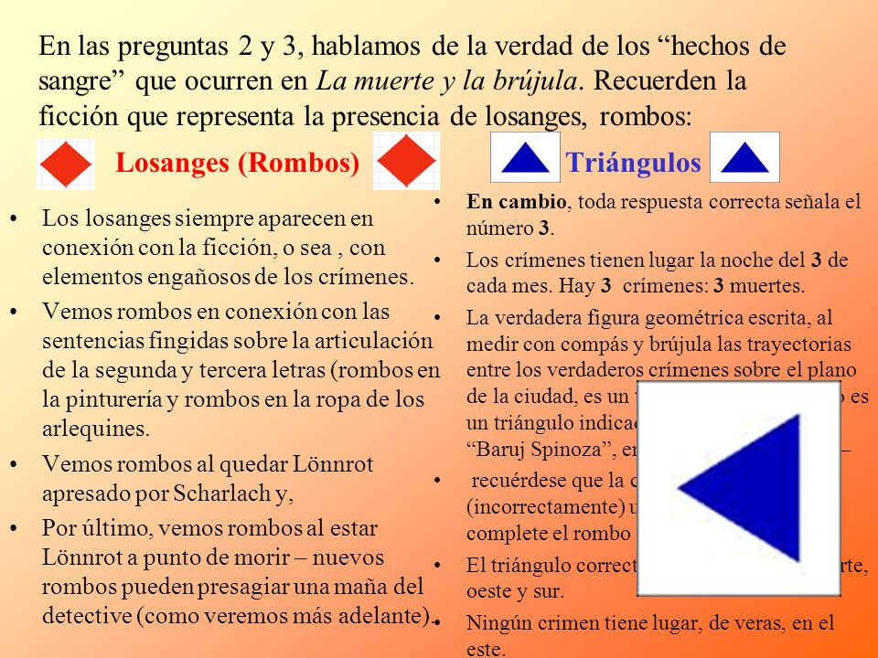 Losanges (Rombos) Triángulos