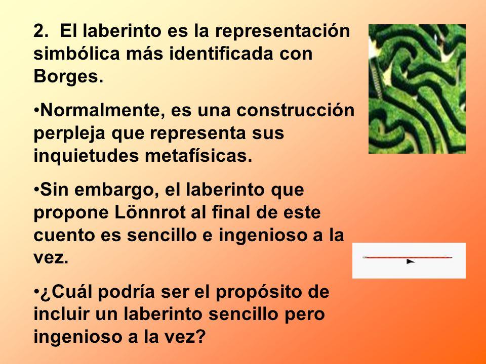 2. El laberinto es la representación simbólica más identificada con Borges.