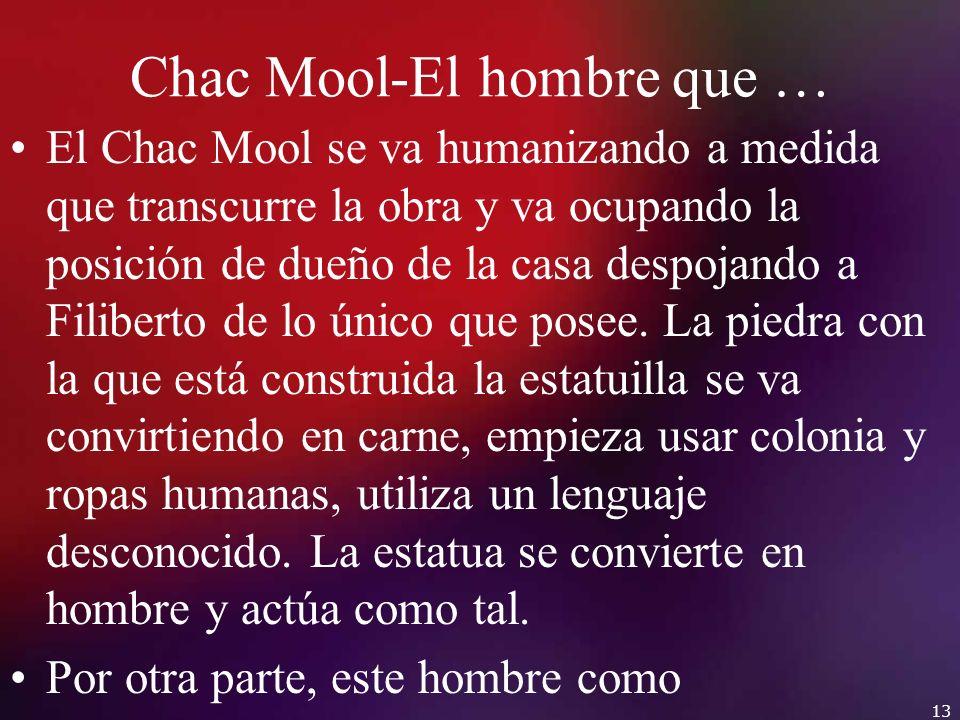 Chac Mool-El hombre que …