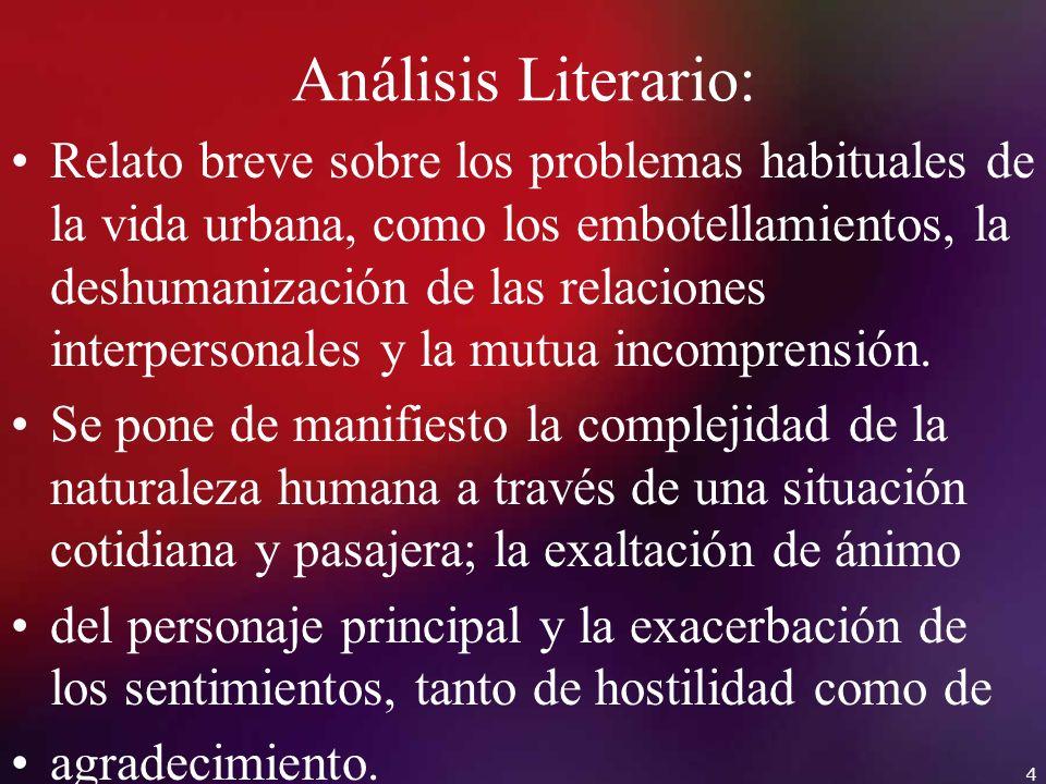 Análisis Literario: