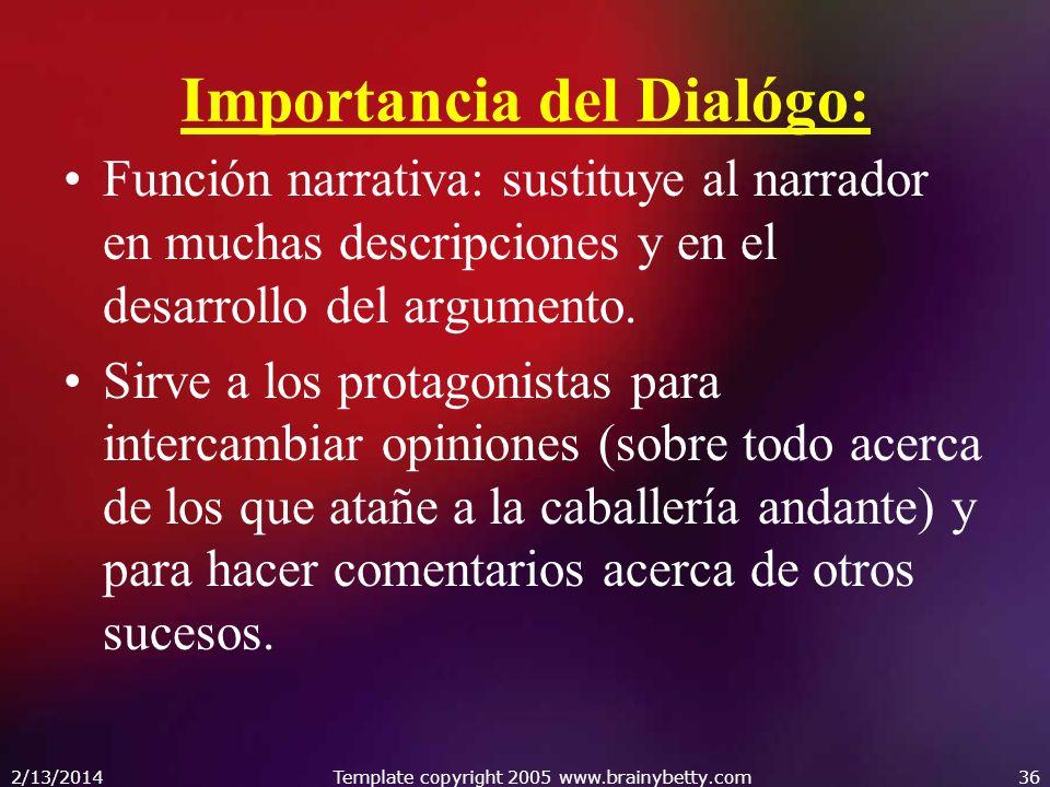 Importancia del Dialógo: