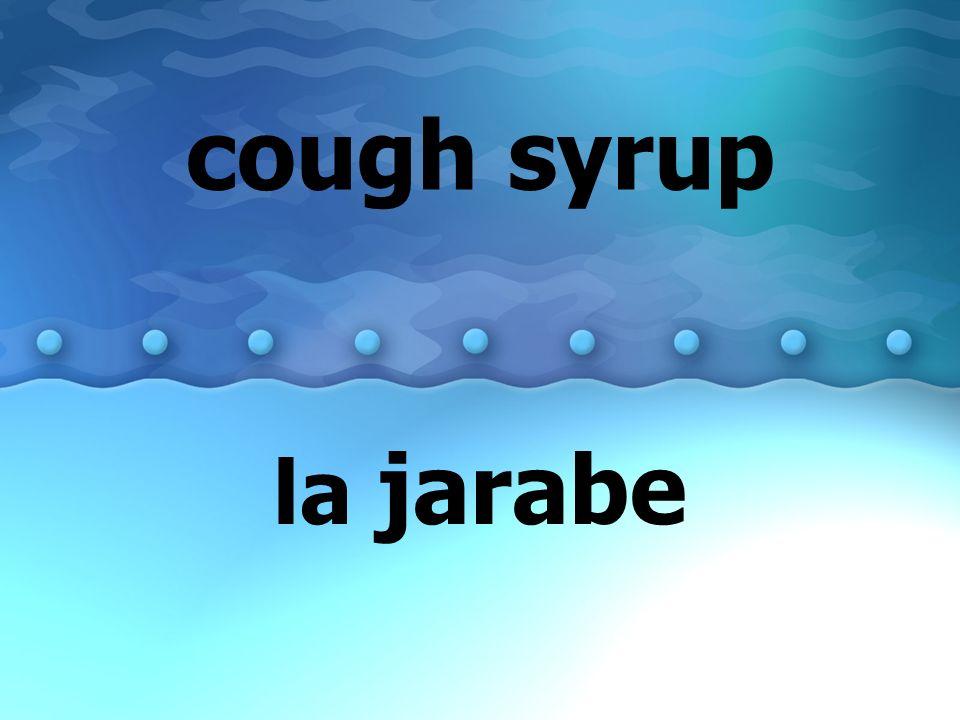 cough syrup la jarabe