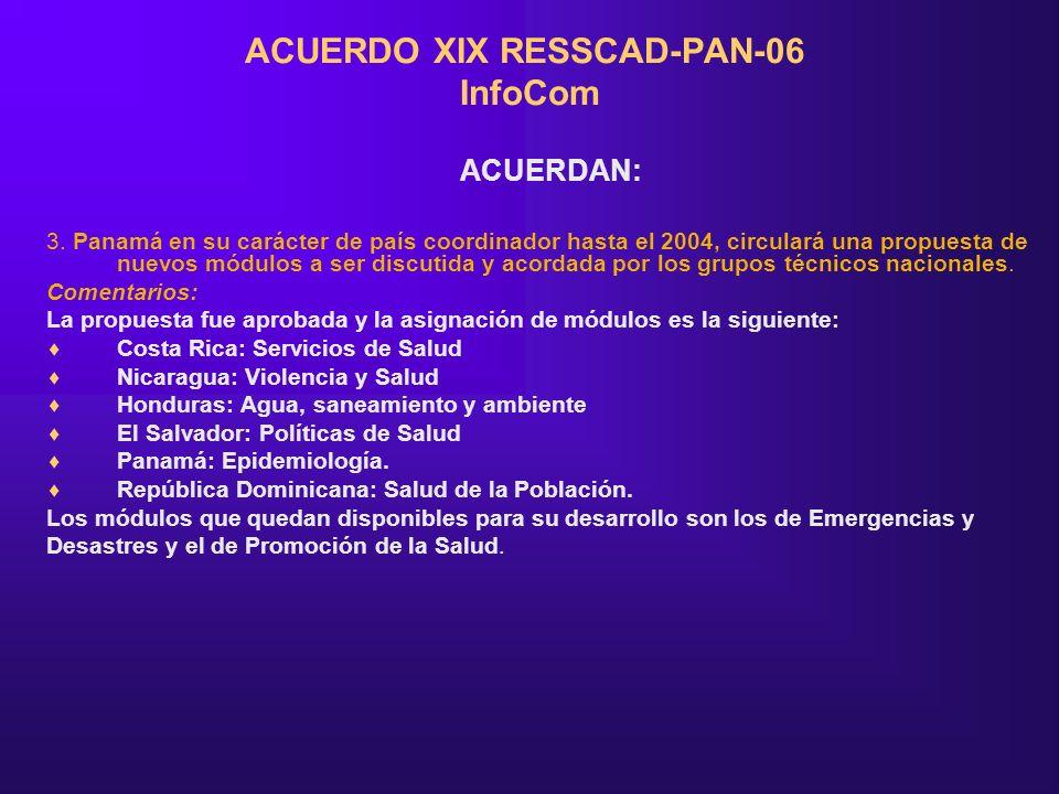 ACUERDO XIX RESSCAD-PAN-06 InfoCom