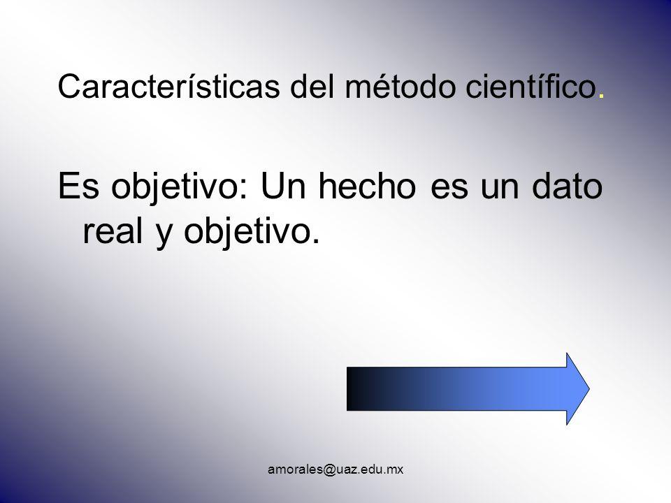 Es objetivo: Un hecho es un dato real y objetivo.
