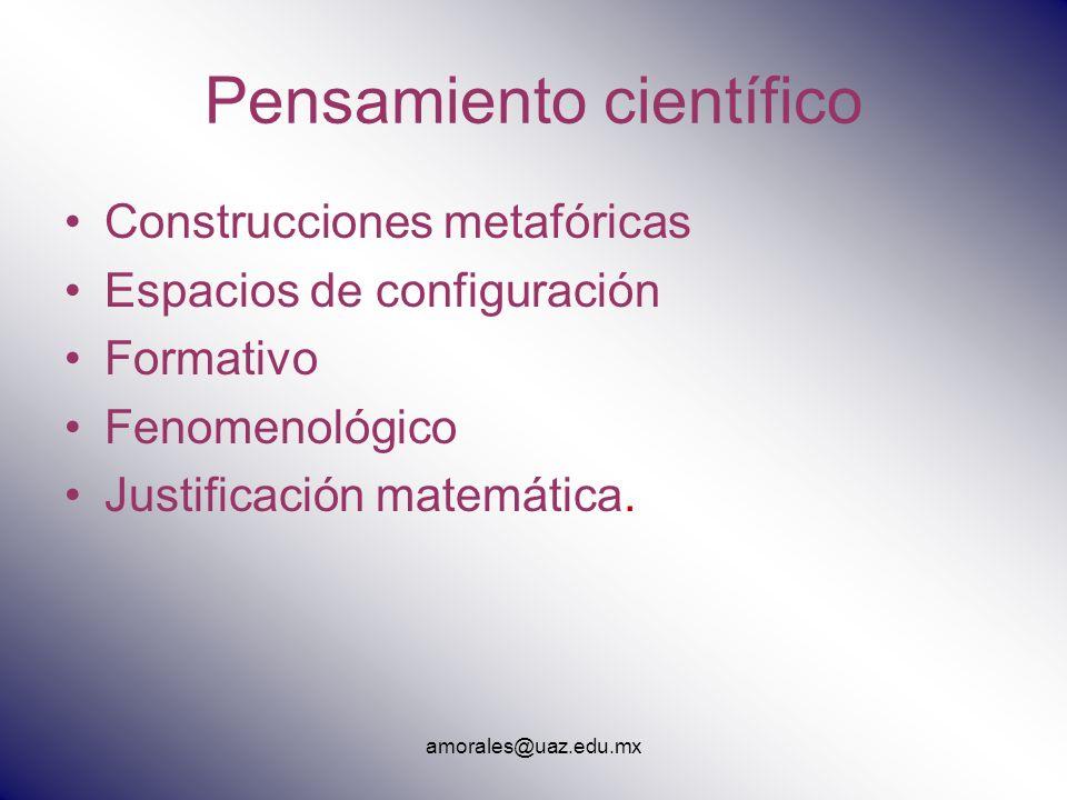 Pensamiento científico
