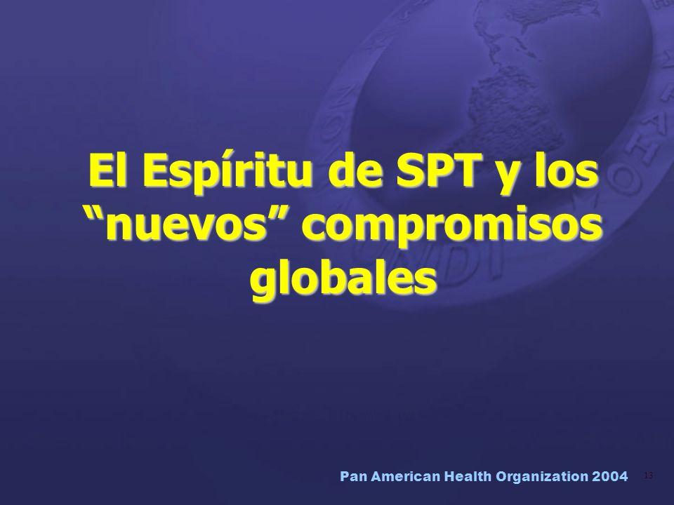 El Espíritu de SPT y los nuevos compromisos globales