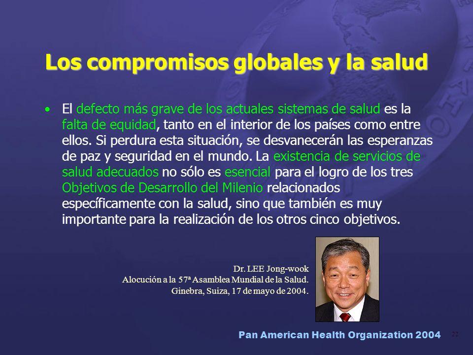 Los compromisos globales y la salud