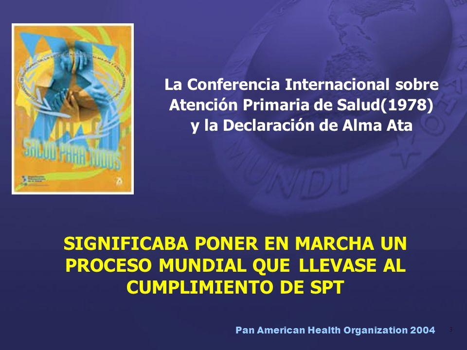 La Conferencia Internacional sobre