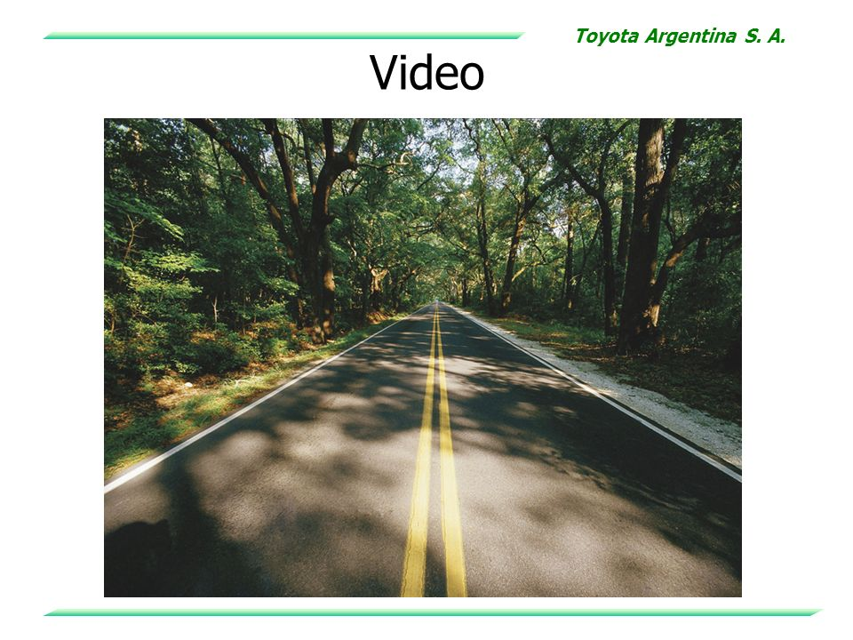Toyota Argentina S. A. Video