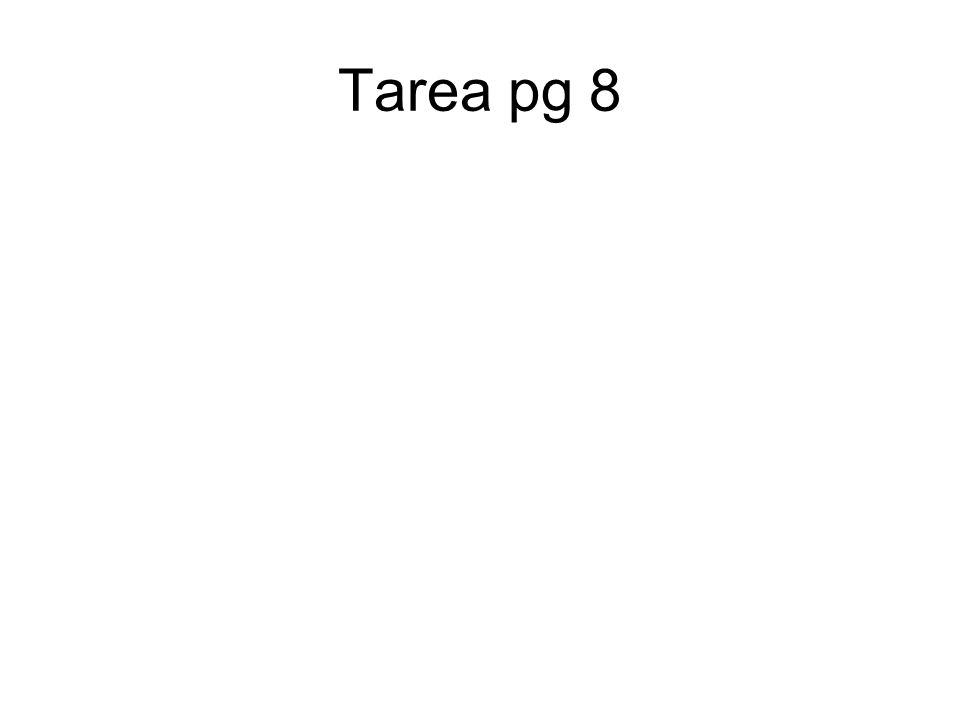 Tarea pg 8