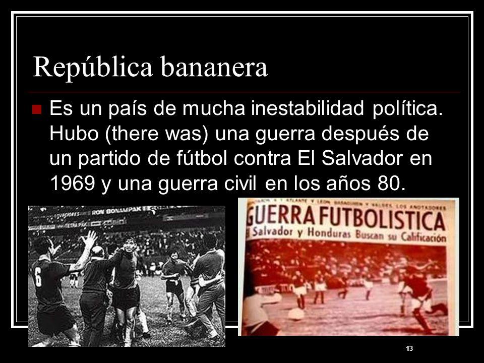República bananera