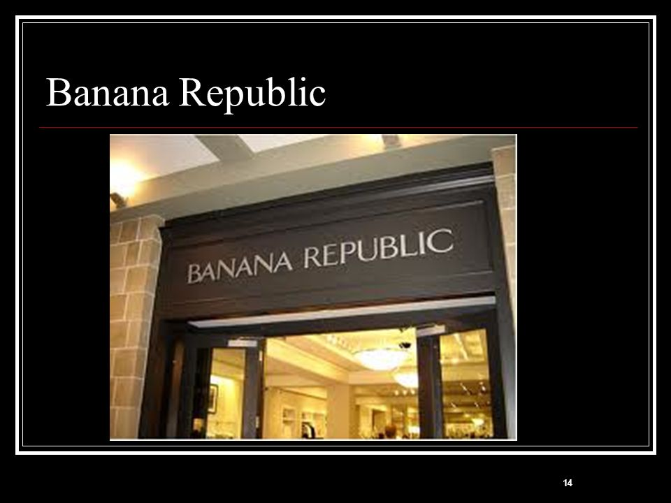 Banana Republic 14