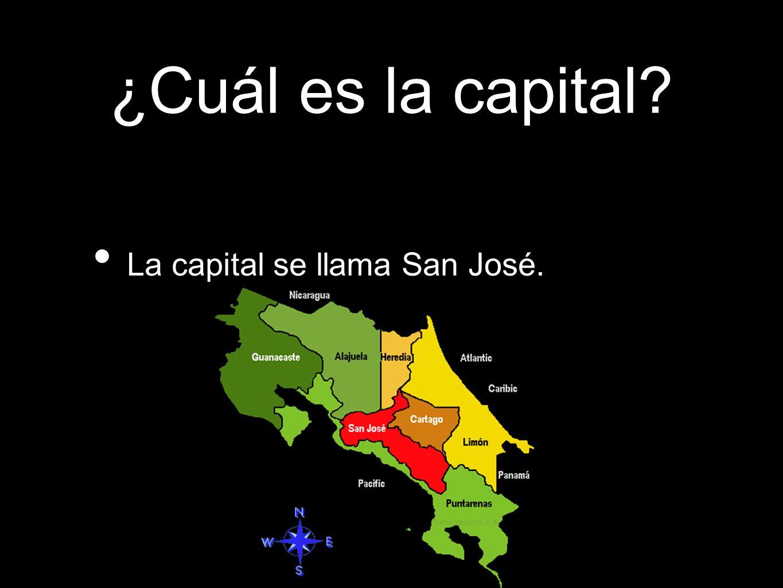 ¿Cuál es la capital La capital se llama San José.