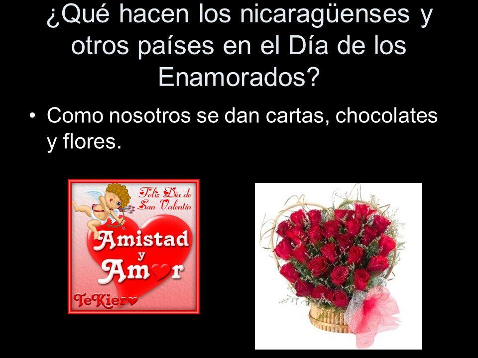¿Qué hacen los nicaragüenses y otros países en el Día de los Enamorados