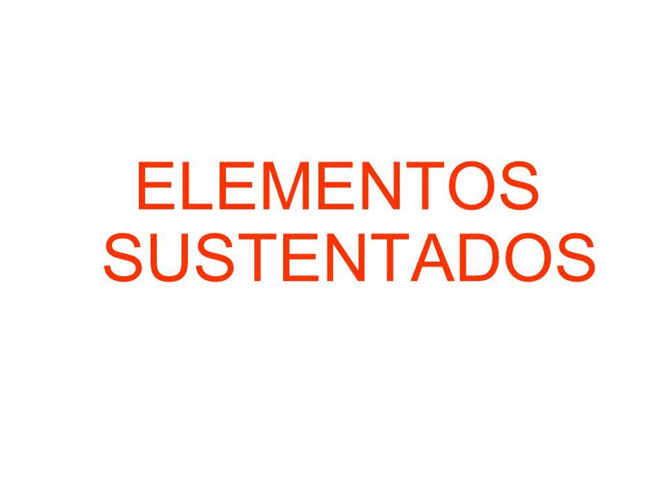 ELEMENTOS SUSTENTADOS