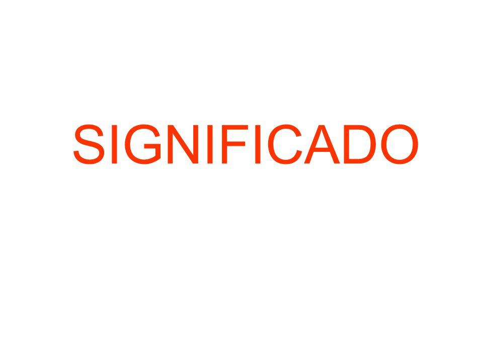 SIGNIFICADO
