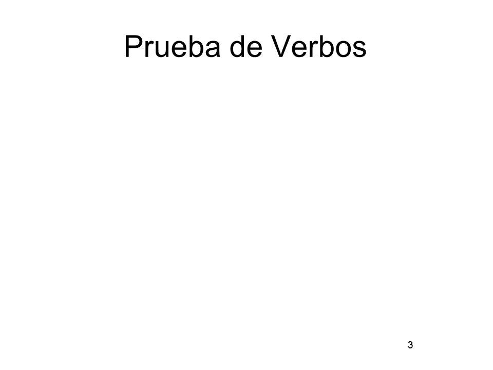 Prueba de Verbos 3