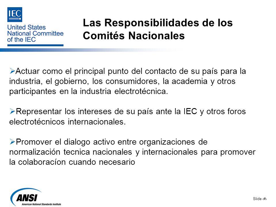Las Responsibilidades de los Comités Nacionales