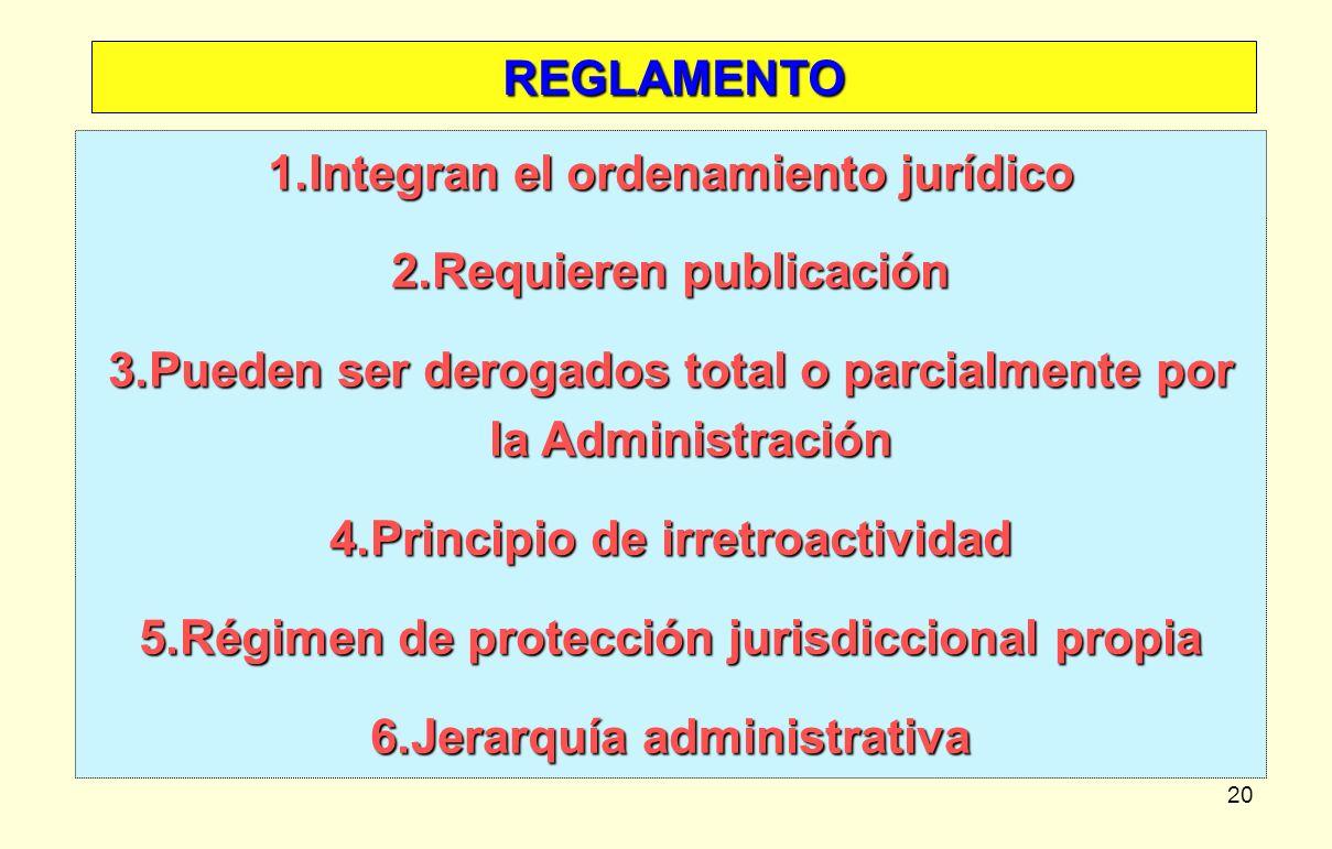 Integran el ordenamiento jurídico Requieren publicación