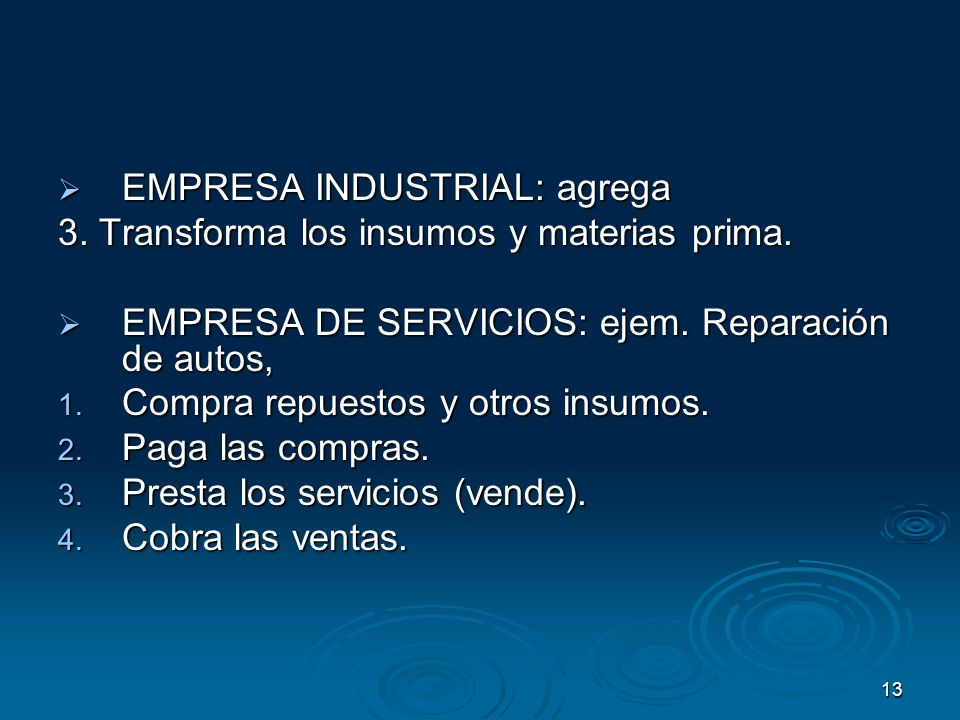 EMPRESA INDUSTRIAL: agrega