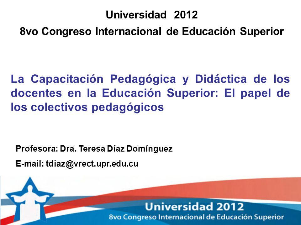 8vo Congreso Internacional de Educación Superior