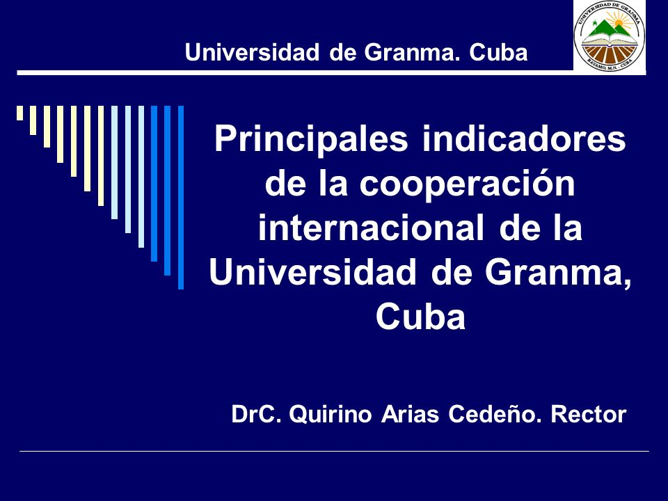 DrC. Quirino Arias Cedeño. Rector