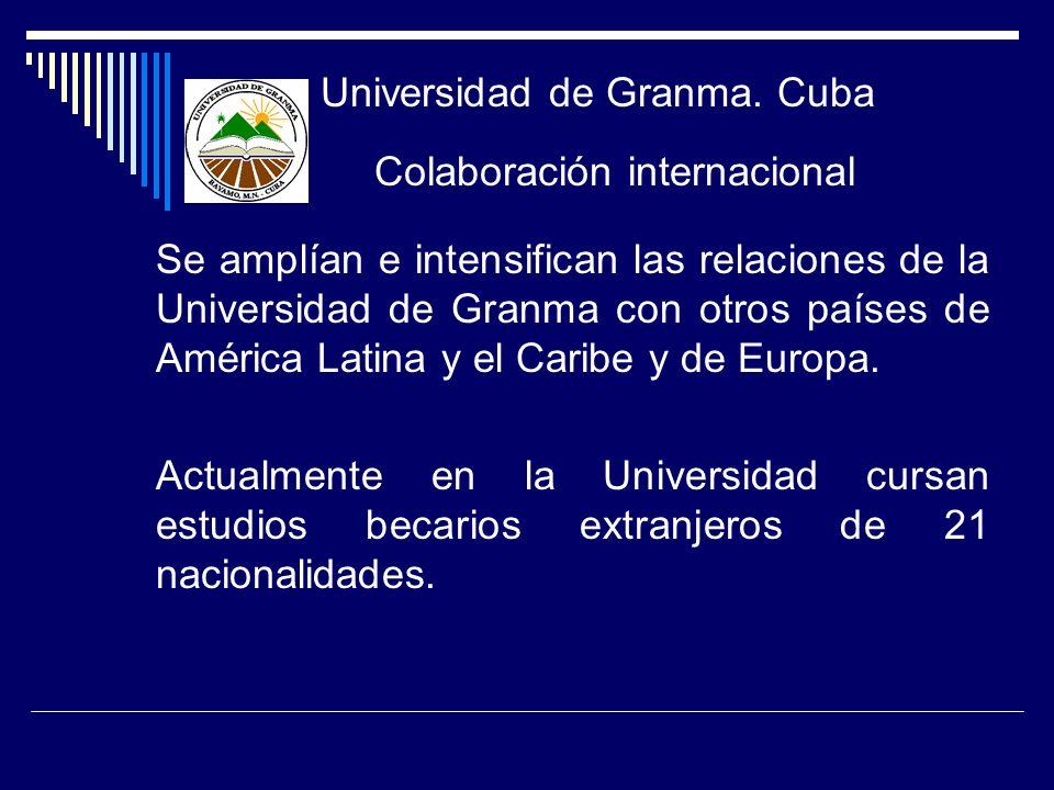 Universidad de Granma. Cuba