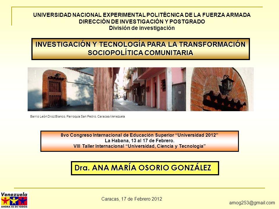 Dra. ANA MARÍA OSORIO GONZÁLEZ