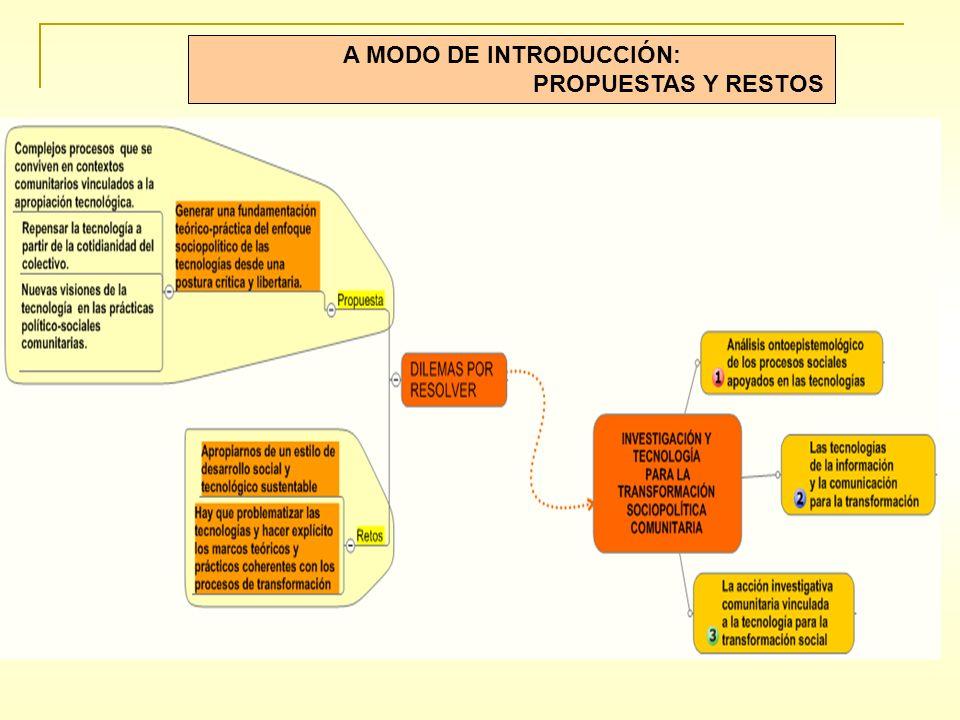 A MODO DE INTRODUCCIÓN: