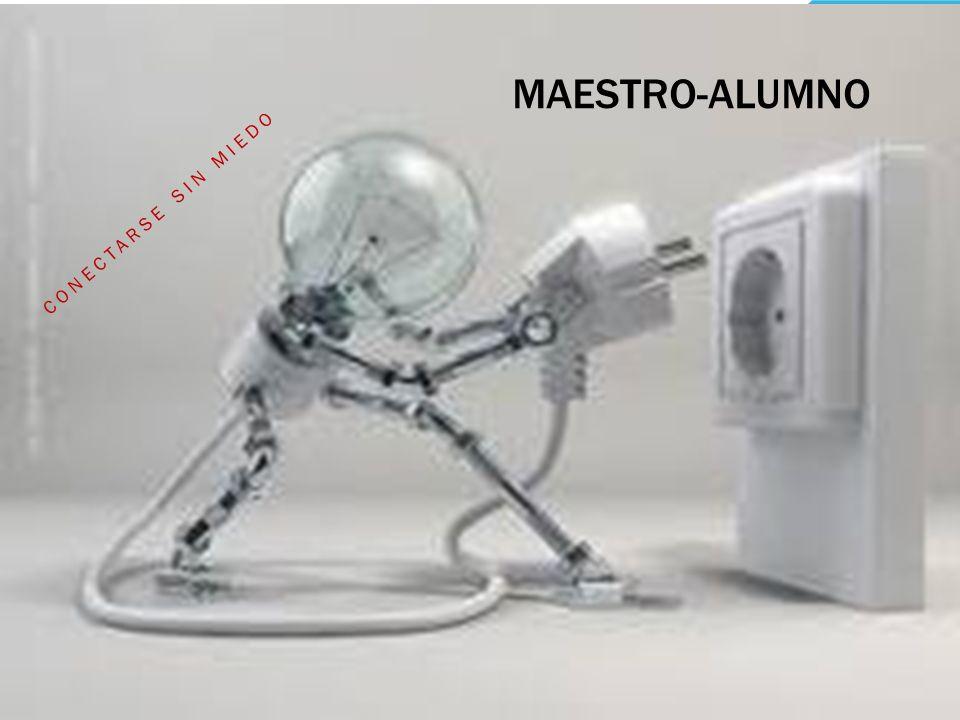 Maestro-alumno CONECTARSE SIN MIEDO
