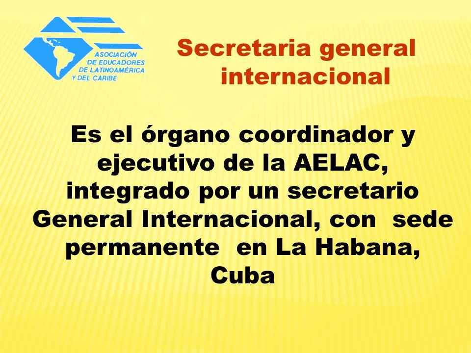 Secretaria general internacional