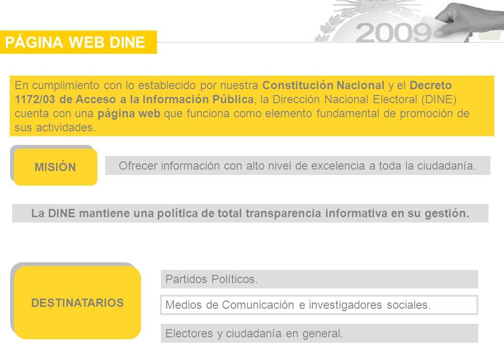 Ofrecer información con alto nivel de excelencia a toda la ciudadanía.