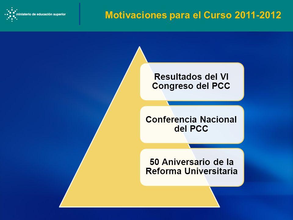 Motivaciones para el Curso 2011-2012