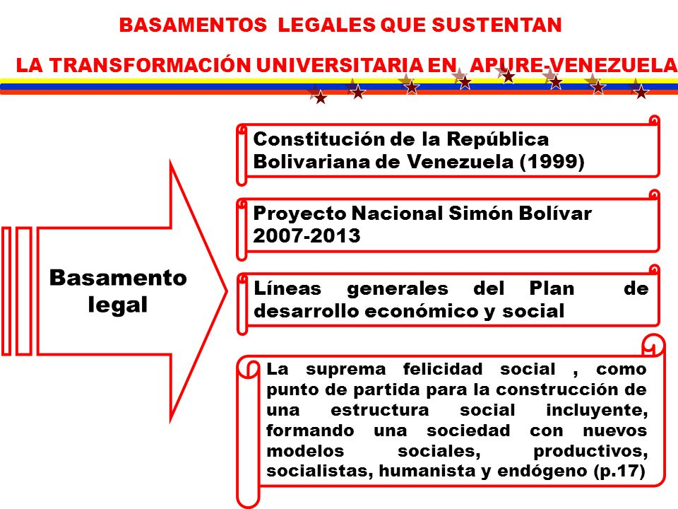 LA TRANSFORMACIÓN UNIVERSITARIA EN APURE-VENEZUELA