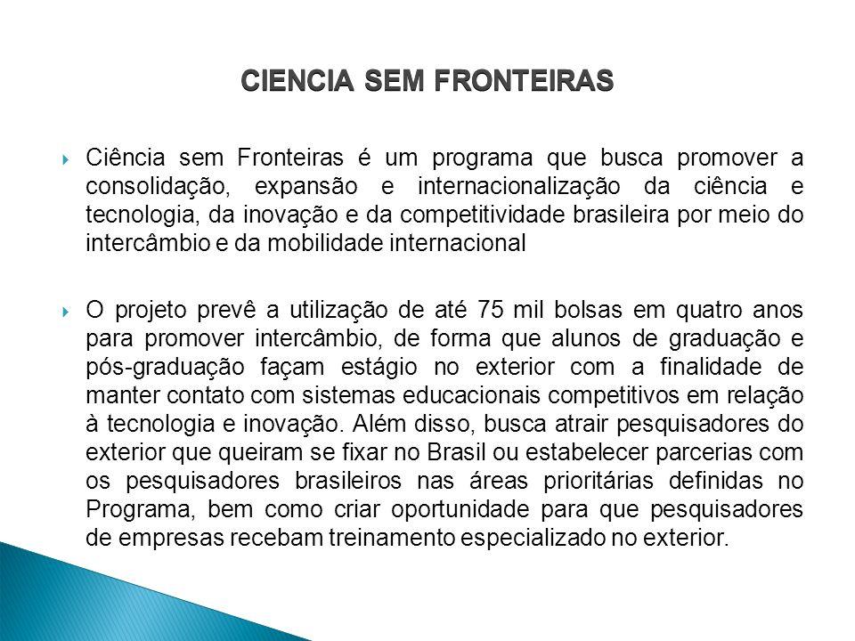 CIENCIA SEM FRONTEIRAS