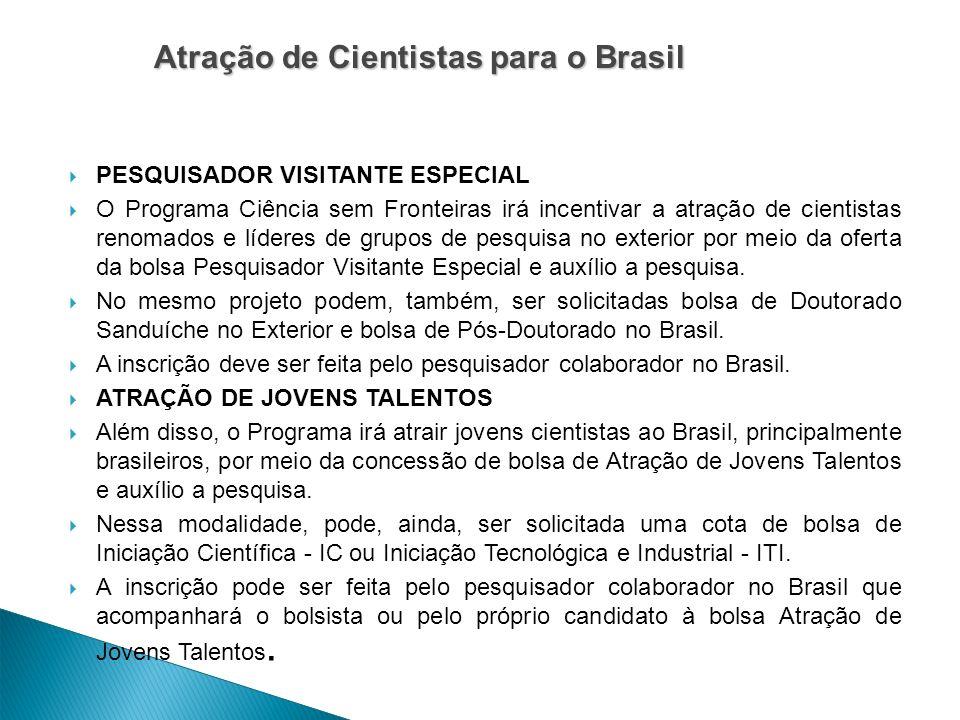 Atração de Cientistas para o Brasil
