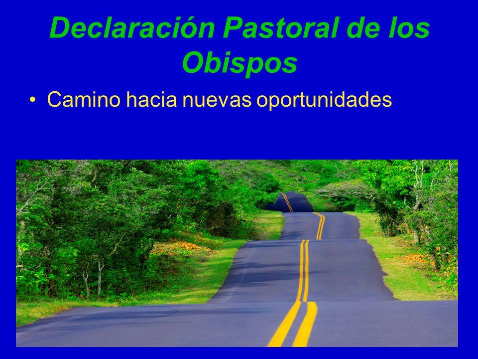 Declaración Pastoral de los Obispos
