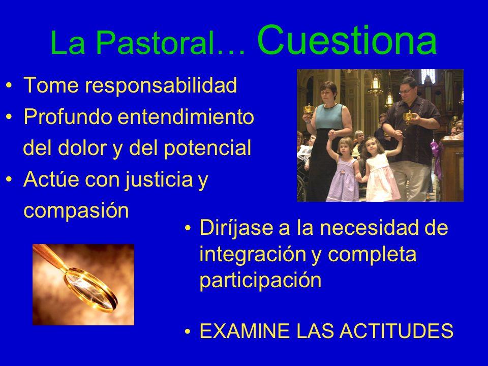 La Pastoral… Cuestiona