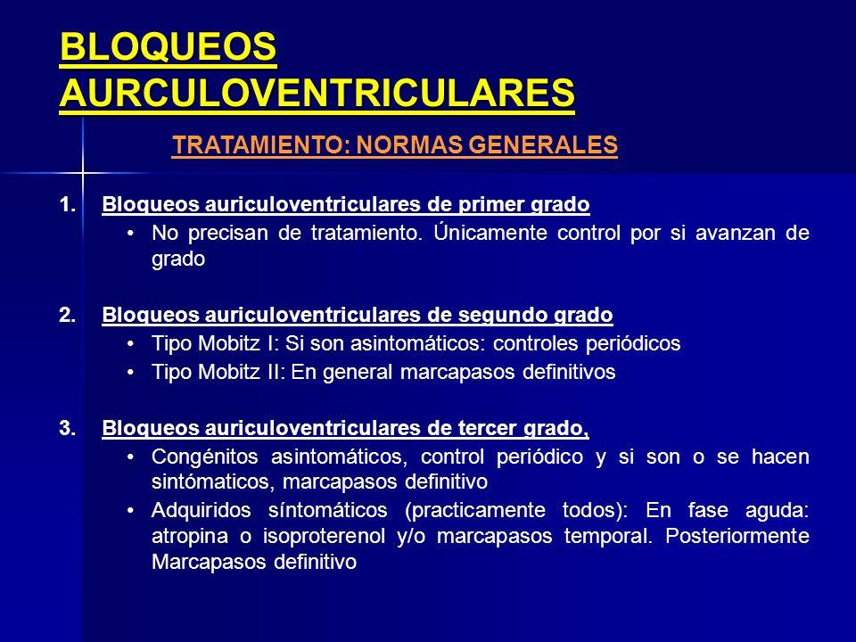 TRATAMIENTO: NORMAS GENERALES
