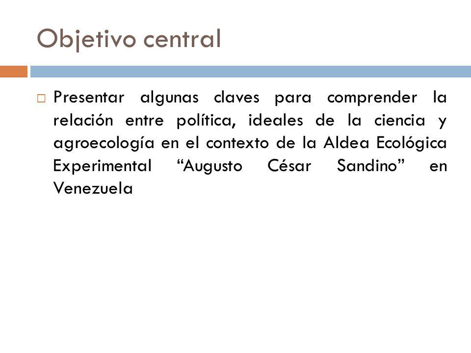 Objetivo central